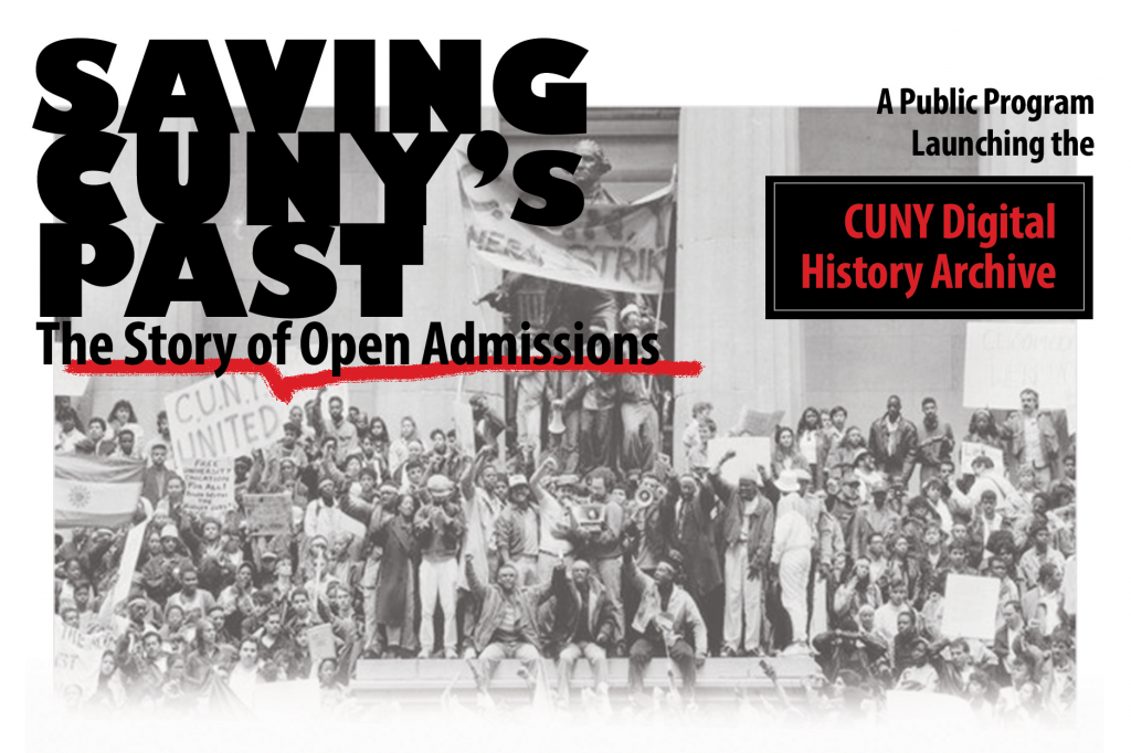 Saving CUNY's past, April 9th event